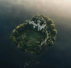 MacDermott's Castle, Lough Key, County Roscommon, Ireland