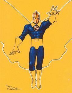 Fate by Matt Wagner Superhero Characters, Comic Book Characters, Comic Character, Comic Books, Dc Doctor, Show Me A Hero, Hero Time, Hero 3, Dr Fate