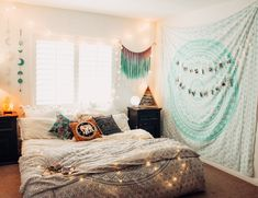 ✰☾ Lady Scorpio | Alexa Halladay | LadyScorpio101.com      Bedroom Goals ☽ ✩ Beautiful room by Lady Scorpio | Bohemian hot pink Pillows Bedroom Moon Phase Wall Hanging Decor Tapestry Design Polaroids all seeing eye Boho Bungalow UOhome urban outfitters apartment dorm || Save 25% off all orders with code PINTERESTXO at checkout | Shop Now LadyScorpio101.com   @ladyscorpio101  Macrame Wall Hanging