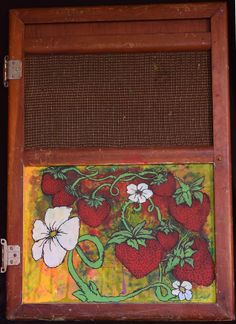 Strawberry Patch by SourflowerArt on Etsy