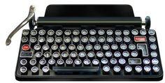 Qwerkywriter: a mechanical typewriter keyboard