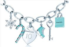 tiffany and co charm bracelet
