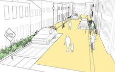 Residential Shared Street - National Association of City Transportation Officials