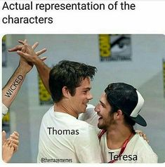 I do not think that's right. At first maybe, but later she was against WICKED. Maze Runner Funny, Maze Runner Thomas, Maze Runner Cast, Maze Runner Movie, Dylan O'brien, Maze Runner Trilogy, Maze Runner Series, Teen Wolf, Foto Fantasy
