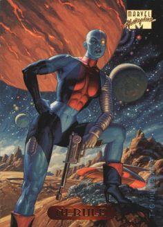 Marvel Masterpieces 1994 Edition Trading Cards by The Hildebrandt Brothers, cards Marvel Comics, Marvel Comic Universe, Comics Universe, Marvel Vs, Marvel Heroes, Anime Comics, Comic Book Characters, Marvel Characters, Comic Character