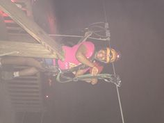 My bonus daughter Camille at the Mega Cavern in Louisville, KY