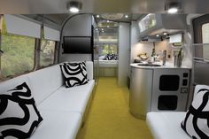 Dwell | At Home in the Modern World: Modern Design & Architecture - interior of an Airstream