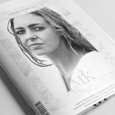 Cover van mijn eigen portfolio magazine