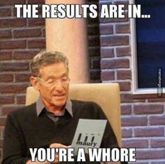 Breaking news with Maury Povich