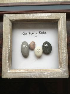 Super cute Kids would love to make this The post Super cute Kids would love to make this appeared first on Woman Casual - DIY and crafts Stone Crafts, Rock Crafts, Cute Crafts, Crafts To Make, Crafts For Kids, Arts And Crafts, Kids Diy, Children Crafts, Crafts With Rocks