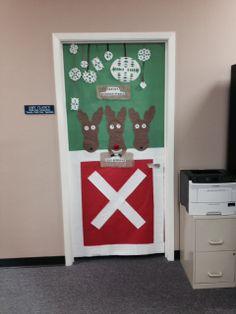 Looks like Santa's reindeer are ready for Christmas Eve.