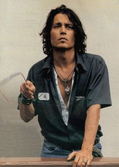 Johnny Depp, male actor, sexy guy, steaming hot, eye candy, love him, portrait, photograph, photo