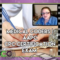 Medical Coders | AAPC CPC Certification Exam. mentors or fellow coders that are one has been a coder forever and did lots of billing and another one is a compliance office. Medical Coding Certification, Medical Coding Training, Medical Coder, Medical Billing And Coding, Medical Terminology, Medical Assistant, Cpc Certification, Exam Study Tips, Coding Tutorials