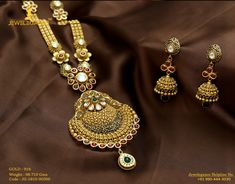 Gold 916 Premium Design Get in touch with us on Bridal Jewelry, Gold Jewelry, Gold Necklace, Jewellery, Gold Pattern, Gold Set, Jewelry Patterns, Necklace Designs, Indian Jewelry