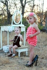 my little girl will be the girl in the pink. so cute!!!