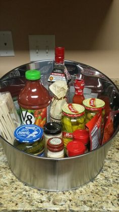 Bloody Mary Basket Inspiration | Cheers! | Alcohol gift ...