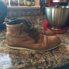 Bull Boxer Men's casual Boot size 10 Bull boxer.  Boots size 10.  Worn but life left. Bull Boxer Shoes Winter & Rain Boots