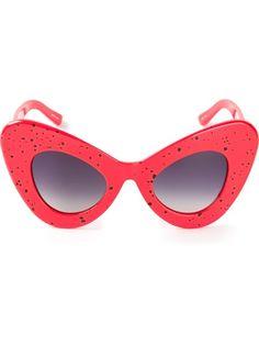 LINDA FARROW GALLERY - cat eye statement sunglasses