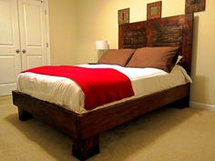 Ana White   Build a Bed Frame for Full Size Mattress   Free and Easy DIY Project and Furniture Plans