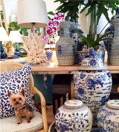 The Glam Pad: Mecox Defines Palm Beach Style