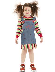 Disfraz de Chucky Poseído para Niña