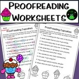 Proofreading Practice Worksheets - NO PREP by The Froggy Factory 3rd Grade Classroom, Morning Work, Writing Paper, Elementary Teacher, Punctuation, Interactive Notebooks, Writing Activities, Teaching Math, In Kindergarten