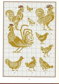 """chicken charts for """"The fat just goes right through you."""""""