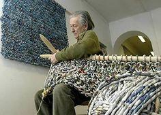 Ivano vitali reciclado arte diario