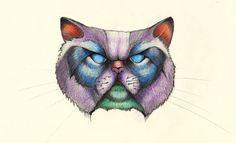 Cat tattoo plan