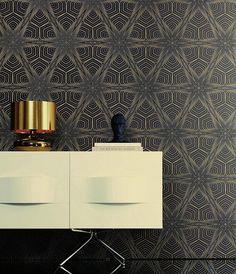 Silenus | Papier peint glamour | Motifs du papier peint | Papier peint des années 70