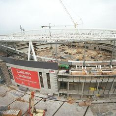 Did you know the Emirates Stadium took 123 weeks and two days to complete? Find out more on your #AFCStadiumTour