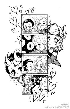 Thorki cuteness