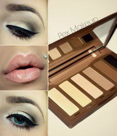 Urban Decay Naked basics tutorial.  Matte eyes are so classic and beautiful!