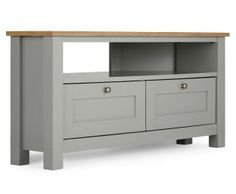Stanton® Grey Corner TV Unit from Next