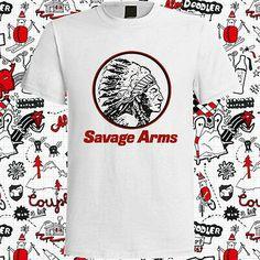 Savage Arms Firearms Guns  LOGO T-SHIRT FRUIT OF THE LOOM S-XXL