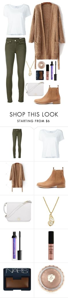 """Autumn"" by lightbody-joanna on Polyvore featuring rag & bone/JEAN, Frame Denim, Mollini, Furla, Lucky Brand, NYX, NARS Cosmetics and Benefit"