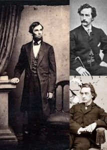 *EDWIN BOOTH ~ Stage actor (bottom right) voted to reelect Abraham Lincoln in 1864, much to the dismay of his younger brother John Wilkes Booth (top right)