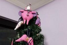 """meu """"besouro Tilda"""" na árvore de natal"""