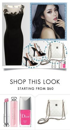 """""""Bez naslova #50"""" by miki-383 ❤ liked on Polyvore featuring Christian Dior and Chanel"""