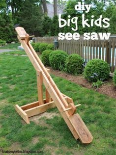 seesaw for big kids | Do It Yourself Home Projects from Ana White