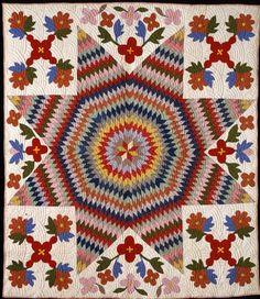 Barbara Brackman's MATERIAL CULTURE: Museum Exhibits: Antique Quilts 2013