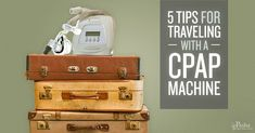 5 Tips for Traveling with a CPAP Machine - Pasha Snoring & Sinus Center Sleep Apnea Remedies, Snoring Solutions, Dream Vacations, Travel Guide, Anxiety, Traveling, Dandy, Tips, London