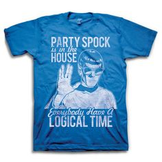 Party Spock T-Shirt