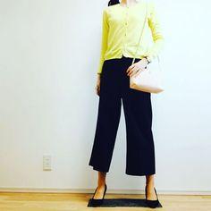 c_satomi_0117* todays outfit⛄️ * knit#zaragirl  pants#GU #gumania  bag#ZARA * 会いたくて〜会いたくて〜震える〜☃ 西野カナ並に寒い〜 * ほんとはスカート履いてたけどやめてワイドパンツにしたの ニットもコートもほとんどクリーニング出しちゃったから着る服ないし← * ヒートテック重ねて頑張ろう〜 * #今日のコーデ #プチプラコーデ #ママコーデ #ママガール #アラサー #ロカリ #mamagirl #kurashiru #ponte_fashion #saita春snap千葉県 #locari