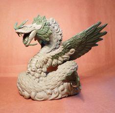 ArtStation - Quetzalcoatl for Paymaster Games, Sean H Bullough Fantasy Creatures, Mythical Creatures, Quetzalcoatl Art, Feathered Serpent, Deadpool Wallpaper, Aztec Warrior, Aztec Art, Mesoamerican, Chicano Art