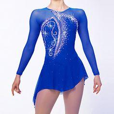 Women's Girls' Figure Skating Dress Ice Skating Dress Quick Dry Anatomic Design High Breathability (>15,001g) Breathable Soft