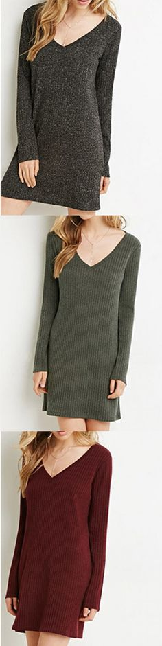 Different color dress to wear in the cold day.