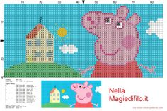 Peppa Pig landscape (click to view)