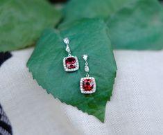 Cheap Silver Rings For Women Bridal Jewellery Online, Wedding Jewelry, Garnet Jewelry, Gems Jewelry, Sterling Silver Cross Pendant, Sterling Silver Necklaces, Cheap Silver Rings, Dreamland Jewelry, Red Gemstones