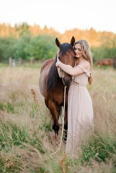 """Jacqueline Burnard – Class of 2018 – with her barrel racing mares """"Lexie"""" and """"Skittles"""" at T/A Ranch in Brush Prairie, Washington"""
